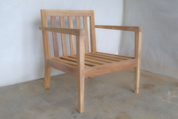 Lidwina chair frame unfinished