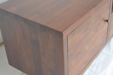 Mangus tv cabinet front view