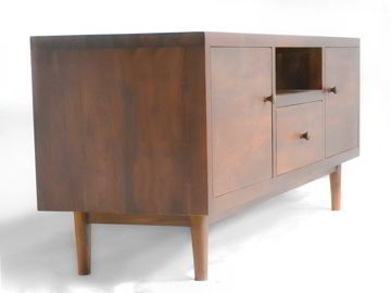 Mangus Tv cabinet front left full view