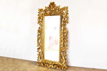 Acanthus mirror right front view
