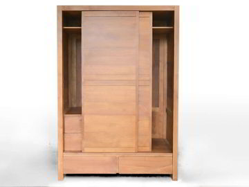 Front view, 2 drawers at the bottom shown