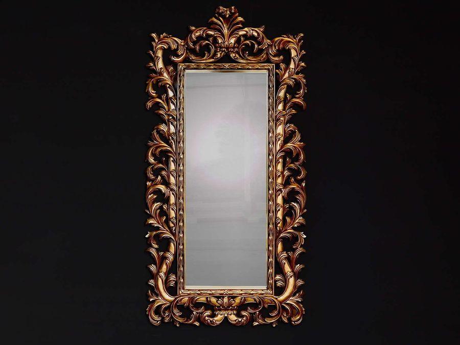 Mirror acanthe portrait