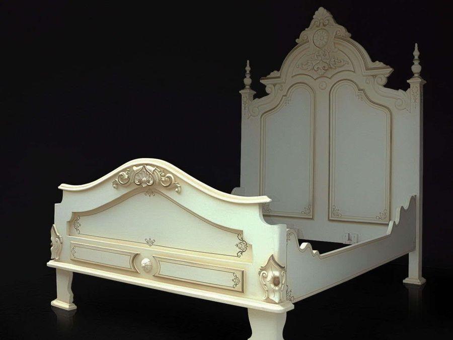Victorian bed king size mattress