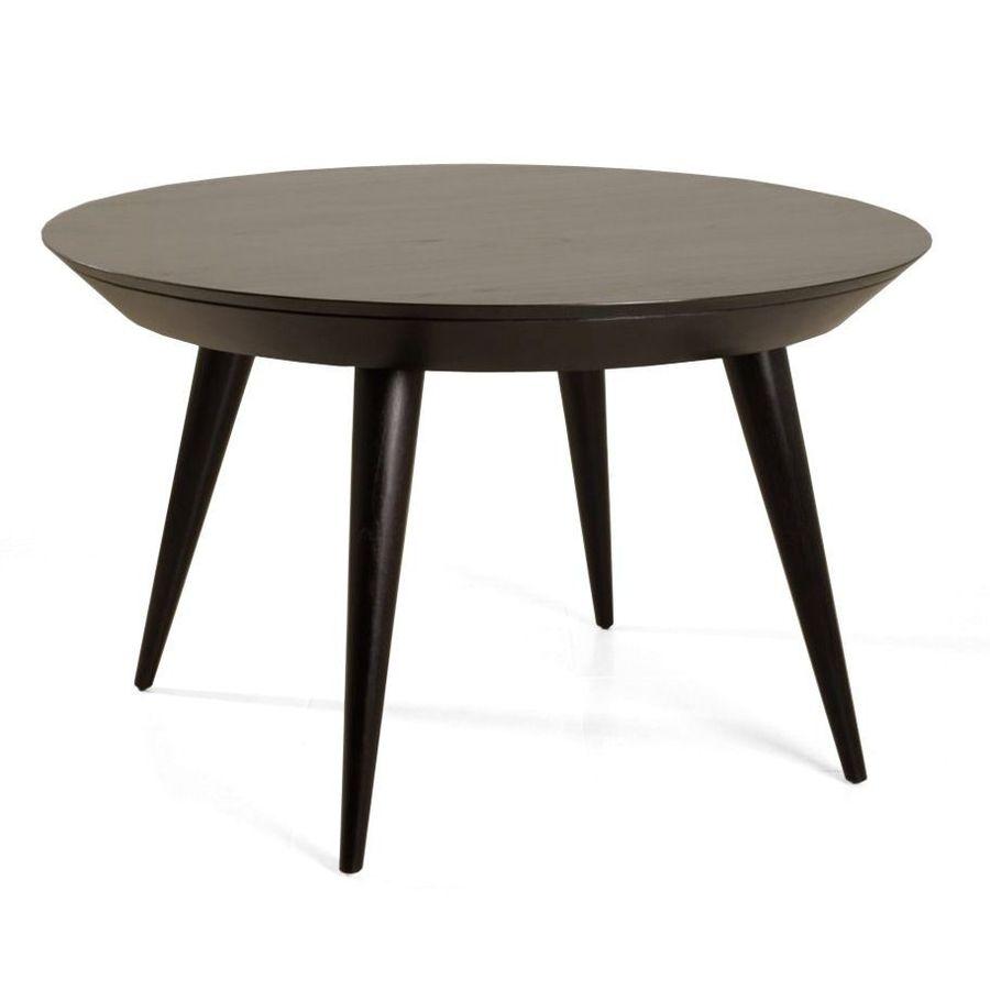 Midcentury round table teak wood