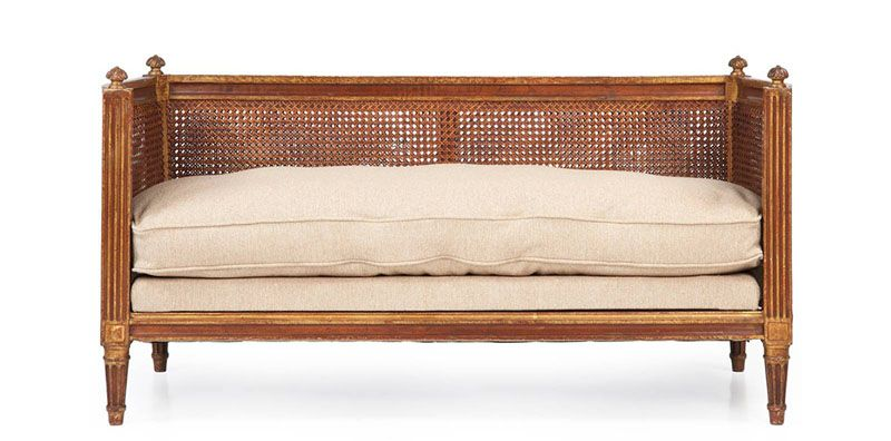 French antique loveseat