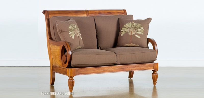 Classic loveseat by Brandon Culler